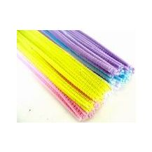 PIPE CLEANERS 6MM PASTEL ASST
