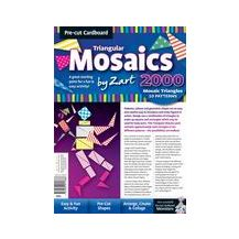CARDBOARD TRIANGULAR MOSAICS 2000'S