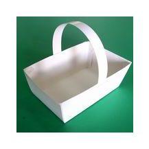 PAPER BASKET WHITE 12'S