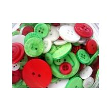 BUTTONS - CHRISMAS ASSORTED- 115g