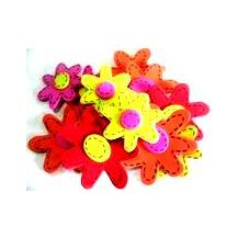 FOAM ADHESIVE SHAPES - FLOWERS 88'S