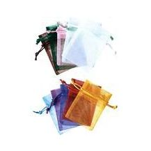 POLY ORGANZA BAGS PKT 10