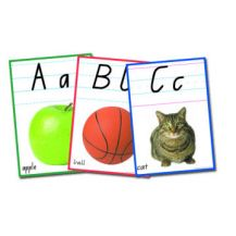 CARDS: ALPHABET A4 - QLD BEGINNERS
