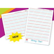 LAMINATED WRITING CHART A2 D/SIDED