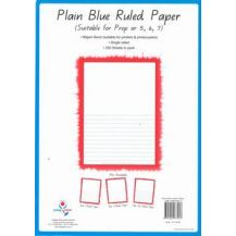 RULED PAPER A4 - HALF PAGE YEAR 5/6/7