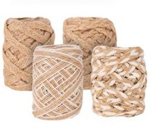 NATURAL BRAID 5M ROLL PKT 4