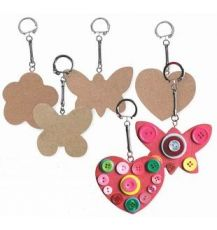 KEY TAG - (KG250) WOODEN MOTHERS DAY 10'S