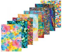 PATTERN PAPERS - ARTY PACK OF 40