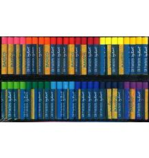 OIL PASTELS COOL AND WARM ASSORTED 48'S (PS035)